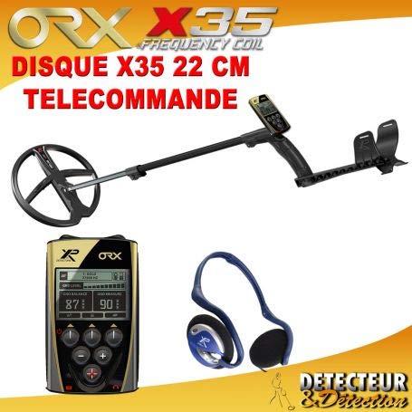 XP Metal Detecteur Deus XP Lite 2 HF: Disque 22 cm HF et Casque sans Fil WS4- V5