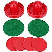 Air Hockey Pushers, Plástico Ligero Goalies Hielo Hockey Pushers Pucks Set Reemplazo para Juego de Mesas, M 76mm