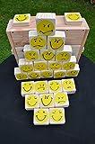 """Smiley Memo 3®"""" Natur (Holzmemory, auch für draußen)"""