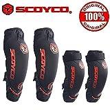 #10: Scoyco K18H18 Bike Riding Knee and Elbow Guard Set of 4-Black