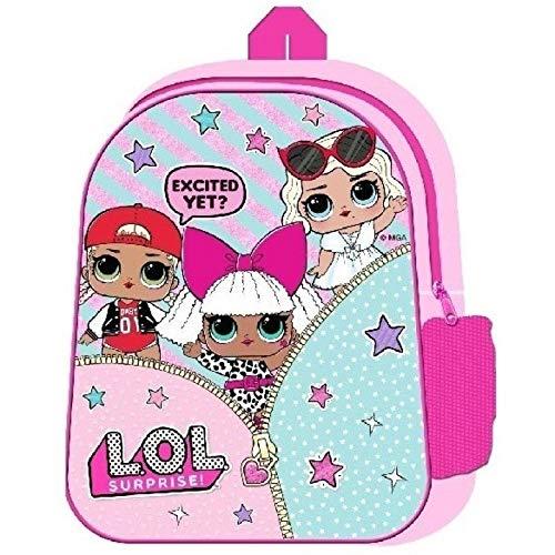LOL Surprise 1000E28-82782, Zainetto per bambini Bambina Rosa Rosa Una Talla