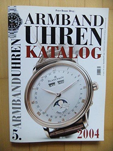 Armband-Uhren Katalog 2004