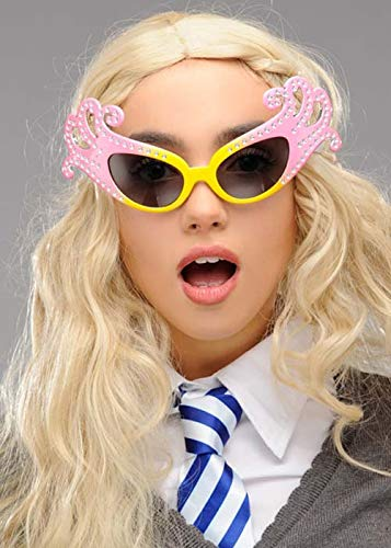 Magic Box Int. Luna Lovegood Style Fancy Pink Brille