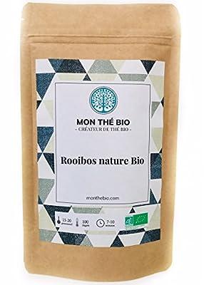 Thé Rooibos Bio - Sachet 200g - Certifié Agriculture biologique