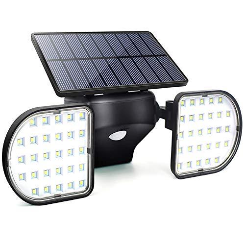 ELAONE Deforamble Luces solares al Aire Libre, LED Motion Sensor Luces de Seguridad, Luces accionadas...