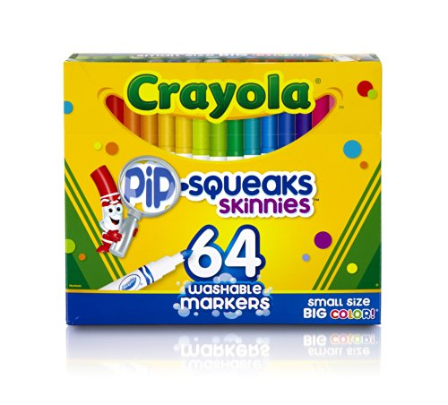 pip-squeaks-skinnies-washable-markers-64-colors-64-set-sold-as-1-set