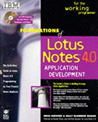 Foundations of Lotus Notes 4 Application Development