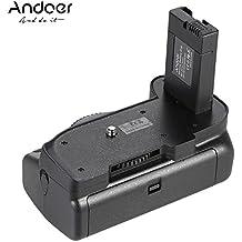 Andoer® Titular Empuñadura Vertical para Nikon D5200 D5100 D5300 DSLR