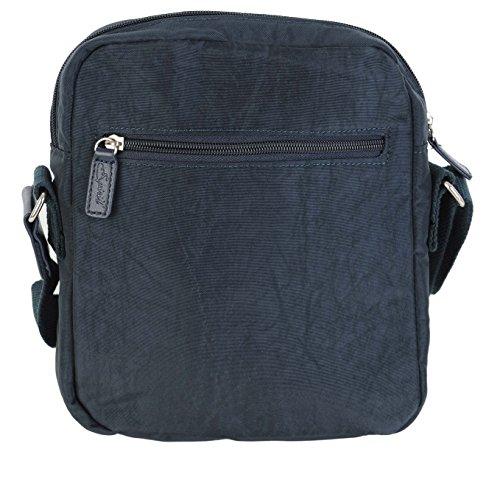 Spirit - Reisetasche Schultertasche Reißverschluss - Stil 5766 Marineblau