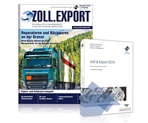 Zoll-Export Paket 2019