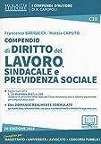 Compendio di diritto del lavoro, sindacale e della previdenza sociale. Con aggiornamento online