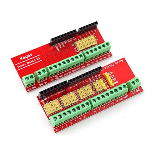 Bluelover Screw Shield V3 Terminal Expansion Board Für Arduino Compatible Uno R3 (Starten Terminal)