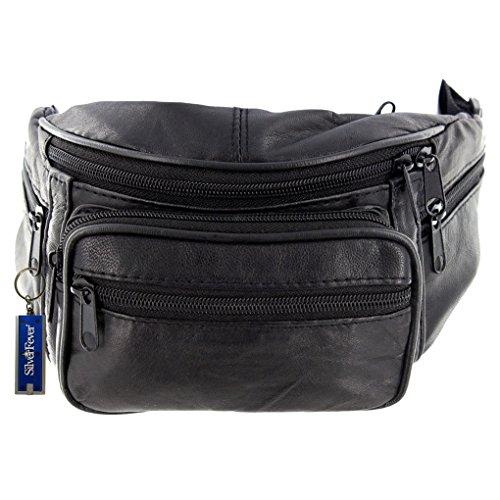 Silver Fever borsa a tracolla con borchie nero 2