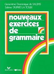 Nouveaux exercices de grammaire