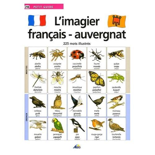 L'imagier français-auvergnat