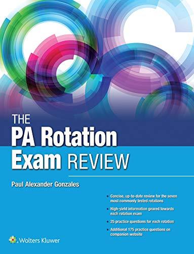 The Pa Rotation Exam Review por Paul Gonzales epub