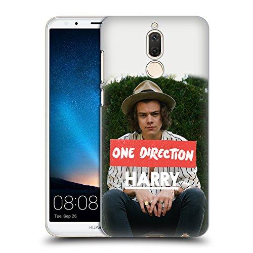 Offizielle One Direction Langen Ärmeln Foto Harry Styles Harte Rueckseiten Huelle kompatibel mit Huawei Mate 10 Lite -