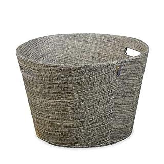Holzkorb Aduro Proline aus PET, Ø45, khaki melange