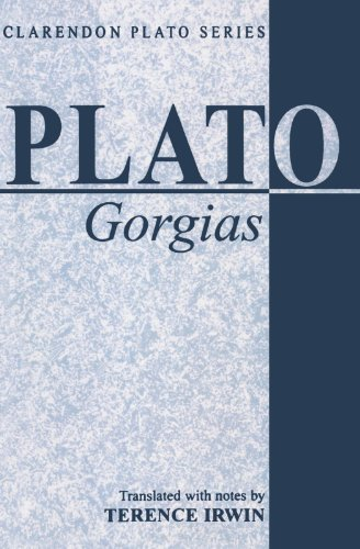 Gorgias (Clarendon Plato Series)