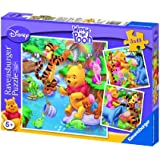 Winnie the Pooh - Puzzle, 3 x 49 piezas (Ravensburger 09276 5)