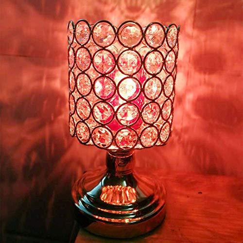 Ddgdg Verdunkelung der Aromatherapie-Lampe, kreativer Plug-in-Schönheitssalon-Brenner-Schlafzimmer-Nachtlicht-Verein-Aromatherapie-Ofen des ätherischen Öls,Rot -