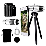 Luxsure® iPhone Camera Lens Kit with 12x Aluminum - Best Reviews Guide