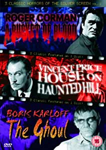 3 Classic Horrors Of The Silver Screen - Vol. 2 - A Bucket Of Blood / House On Haunted Hill / The Ghoul [DVD]