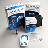 On Call GK Dual Function Meter for Blood Ketone and Glucose Monitoring Meter