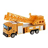 Imported 1:64 Diecast Crane Lifter Truck Model Vehicle Car Toys