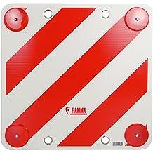 Fiamma - Tarjeta de señalización trasera, color rojo y blanco