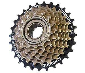 Shimano Freilauf-schraubzahnkranz Mftz500 7-fach 14--34 Zähne Bicycle Components & Parts