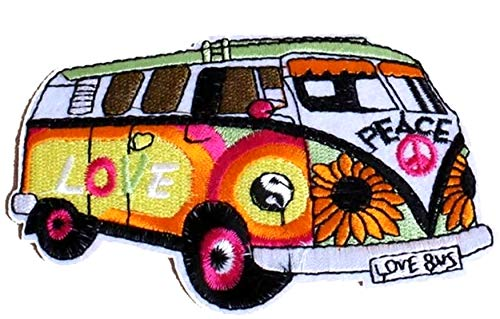 er Jahre Hippie Retro Boho Weed Love Peace
