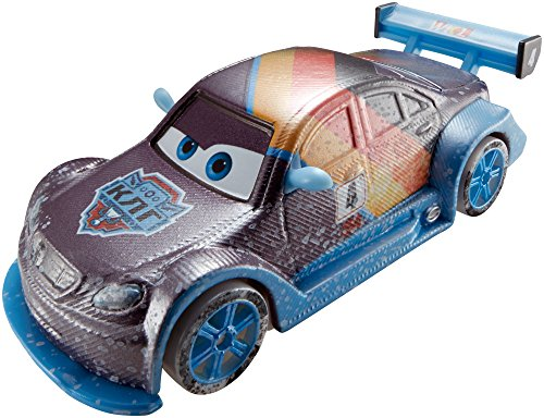 Matchbox Cars Disney (Disney Pixar Cars ICE RACERS Die Cast Auto 1:55 Max Schnell CDR28)