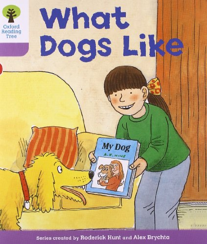 Oxford Reading Tree: Level 1+: More First Sentences A: What Dogs Like por Roderick Hunt
