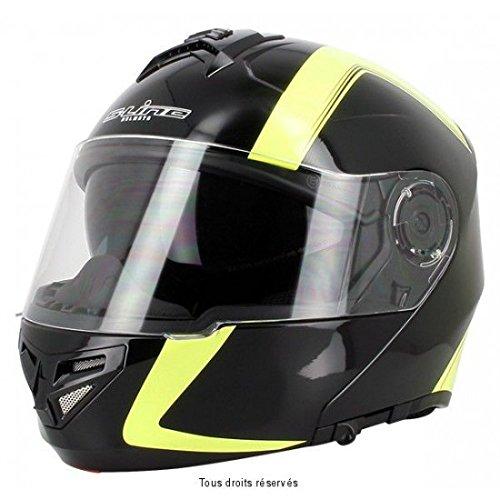 S-Line Casco modulare S540 nero/giallo M (Modulari) / Modular helmet S540 black/yellow M (Modular)
