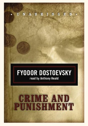 Crime and Punishment (Classic Collection (Blackstone Audio)) by Fyodor Dostoevsky (2008) Audio CD