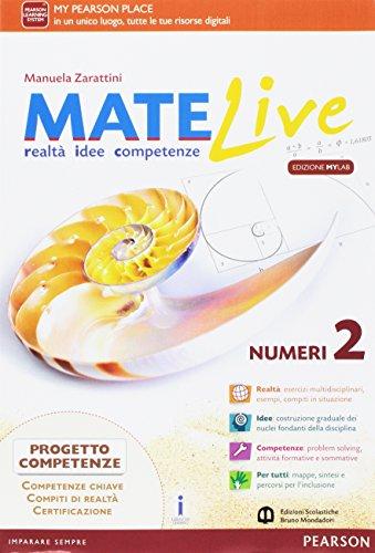 Matelive. Ediz. mylab. Per la Scuola media. Con e-book. Con espansione online: 2