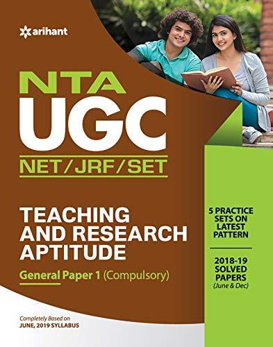 NTA UGC NET/JRF/SLET General Paper-1  Teaching & Research Aptitude 2020