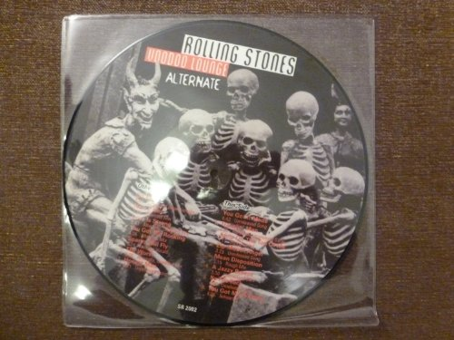 VOODOO LOUNGE.ALTERNATE AND UNRELEASED.LIMITEE RARE.PICTURE DISC.