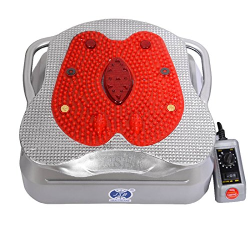 JSB HF12 Oxygen and Blood Circulation Massager (Silver-Red)
