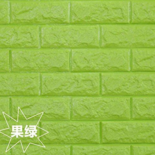 Verdickt Apple (VB&VB Minimalistische Wand ist ein stilvolles Schlafzimmer Wohnzimmer abnehmbare 3D Wand , Apple , König)