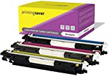 Printing Saver Cyan, Magenta, GELB Toner kompatibel für HP Color Laserjet Pro CP1025, CP1025NW, CP1020, 100 MFP M175A, M175NW, 200 MFP M275A, M275NW, TopShot Laserjet M275 drucker