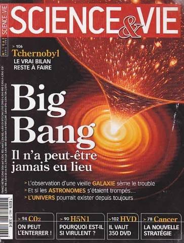 Science et vie n 1063 big bang il n a peut etre jamais eu lieu