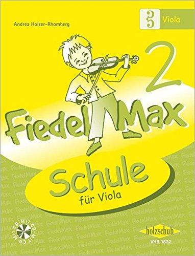 Fiedel-Max für Viola - Schule, m. Audio-CD: 2