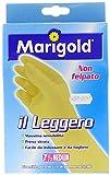 Marigold 145036 Guanto Il Leggero, non felpato dalla massima sensibilità, zigrinatura antiscivolo, facile da mettere e da togliere (Articoli per la casa)