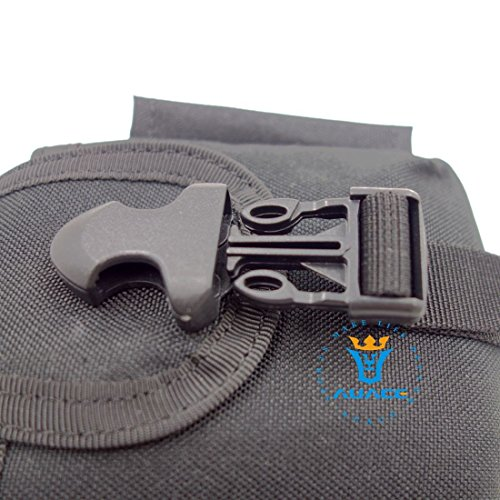 Multifunktions Survival Gear Tactical Beutel MOLLE Beutel Tactical Taille Tasche, Outdoor Camping Tragbare Handtaschen Werkzeug Tasche Reise Tasche BK