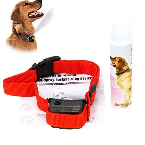 Shopping Box® Antibell-Spray-Halsband- Citronella - Lemon gas Trainingshunde verletzen nicht Ihr Haustier (Lithium Batterie)