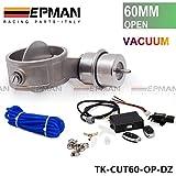 """Válvula de escape de control RECORTE 2.3 """"de 60 mm de tubo de tipo abierto con el actuador de vacío con control remoto inalámbrico Controlador Conjunto TK-CUT60 DZ quirúrgica"""
