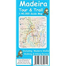 Madeira Tour & Trail Map