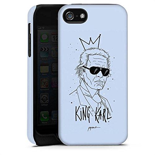 Apple iPhone 6 Housse Outdoor Étui militaire Coque Karl Lagerfeld Mode Dessin Cas Tough terne